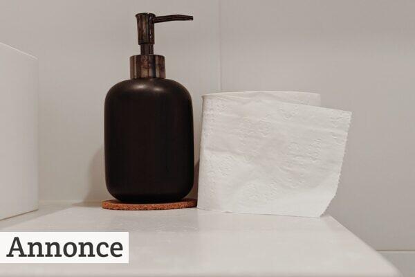 Installer en håndtørrer på toiletterne
